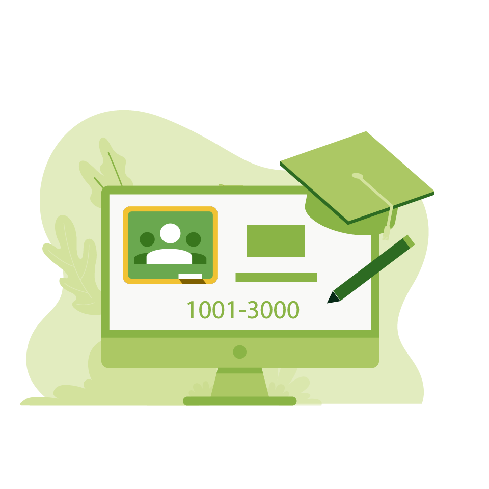 Google Education Monthly Administration 1001-3000 Accounts