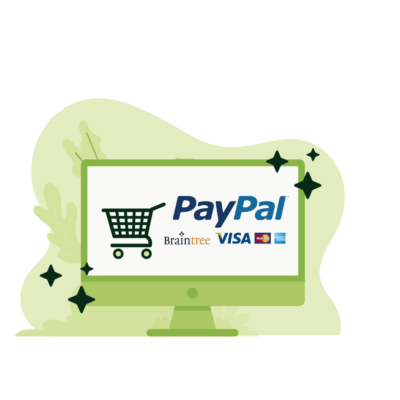 E-commerce Payment Gateway Braintree - Paypal & Credit Cards